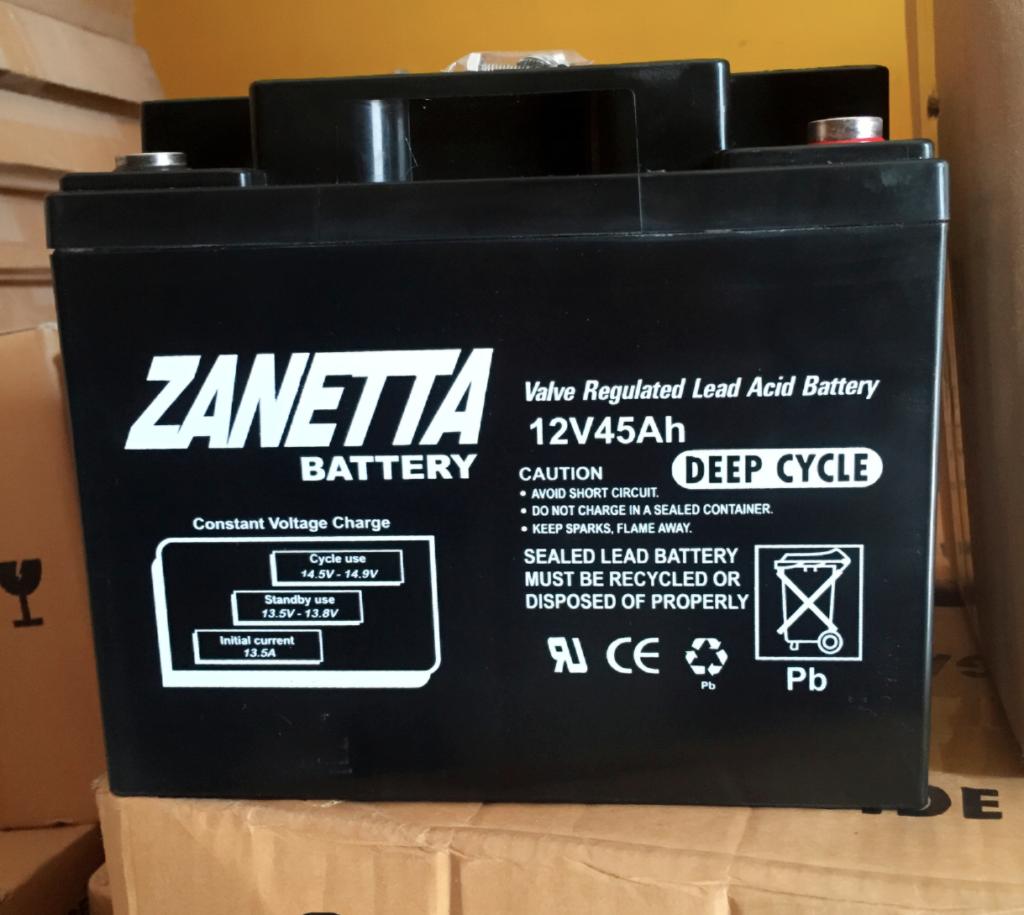 harga baterai panel surya zanetta