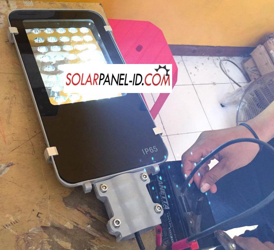 Jual Jual Lampu PJU Solarcell 40Watt AC/DC