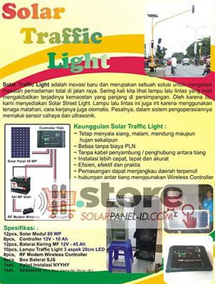 Distributor Solar Traffic Light Tenaga Surya Distributor