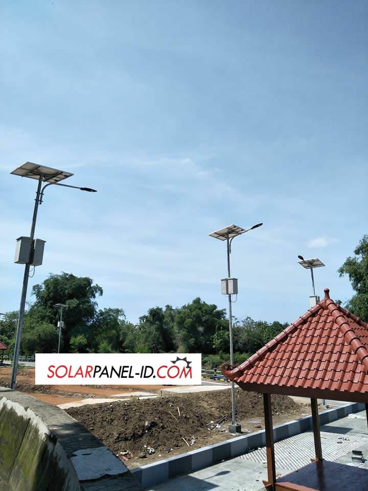 pju tenaga solar cell