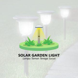 Solar Garden Light Lampu Taman Tenaga Surya