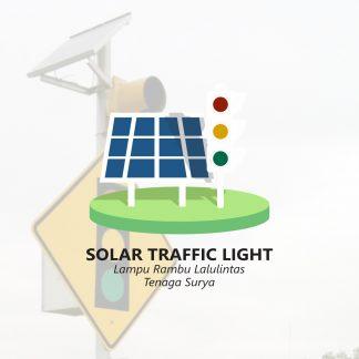 Solar Traffic Light Rambu Lalulintas Tenaga Surya