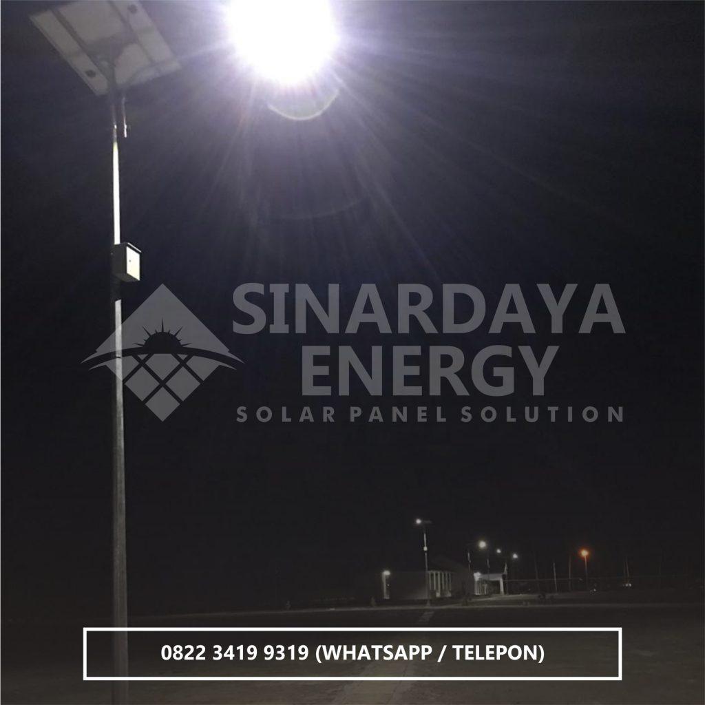 distributor lampu pju tenaga surya palu sulawesi tengah