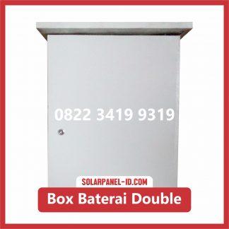 Box Baterai Double