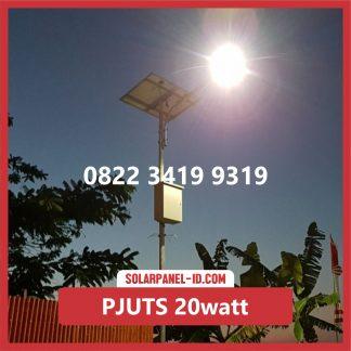 Paket PJU Tenaga Surya 20watt