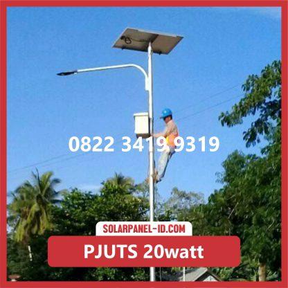 Paket PJU Tenaga Surya 40watt