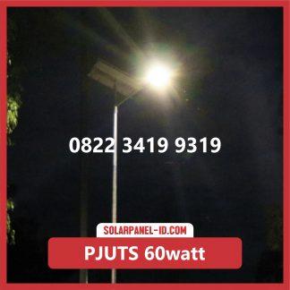 Paket PJU Tenaga Surya 60watt makassar