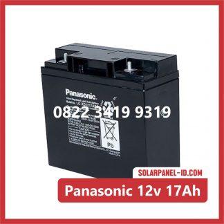 Panasonic baterai kering 12v 17Ah baterai ups