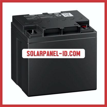 Panasonic baterai kering 12v 42Ah baterai panel surya