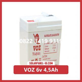 VOZ baterai kering 6v 4,5Ah baterai ups