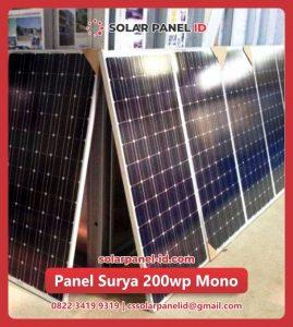 solar cell 200 wp mono