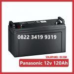 Aki UPS Panasonic 12V 120Ah