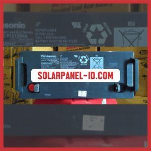 Panasonic baterai kering 12v 120Ah baterai solarcell