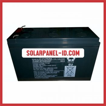 Panasonic baterai kering 12v 7,2Ah baterai ups