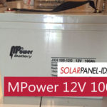 Aki VRLA MPower 12V 100Ah