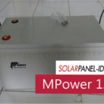 Baterai Panel Surya MPOWER VRLA GEL 12V 200Ah