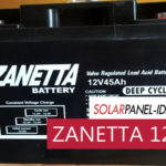 Baterai Solar Panel ZANETTA VRLA 12V 4.5Ah