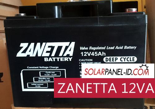 harga baterai solar panel zanetta