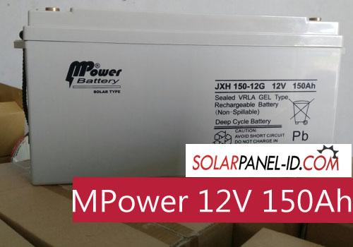 harga baterai solarcell mpower