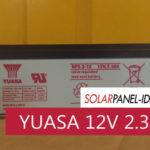 Baterai VRLA YUASA 12V