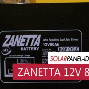 harga aki kering solar panel zanetta 12v