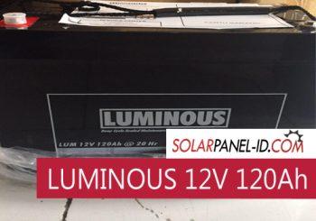 harga baterai luminous 12v