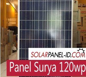 Panel Surya 120wp