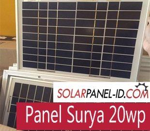 Solar Panel Surabaya 20wp