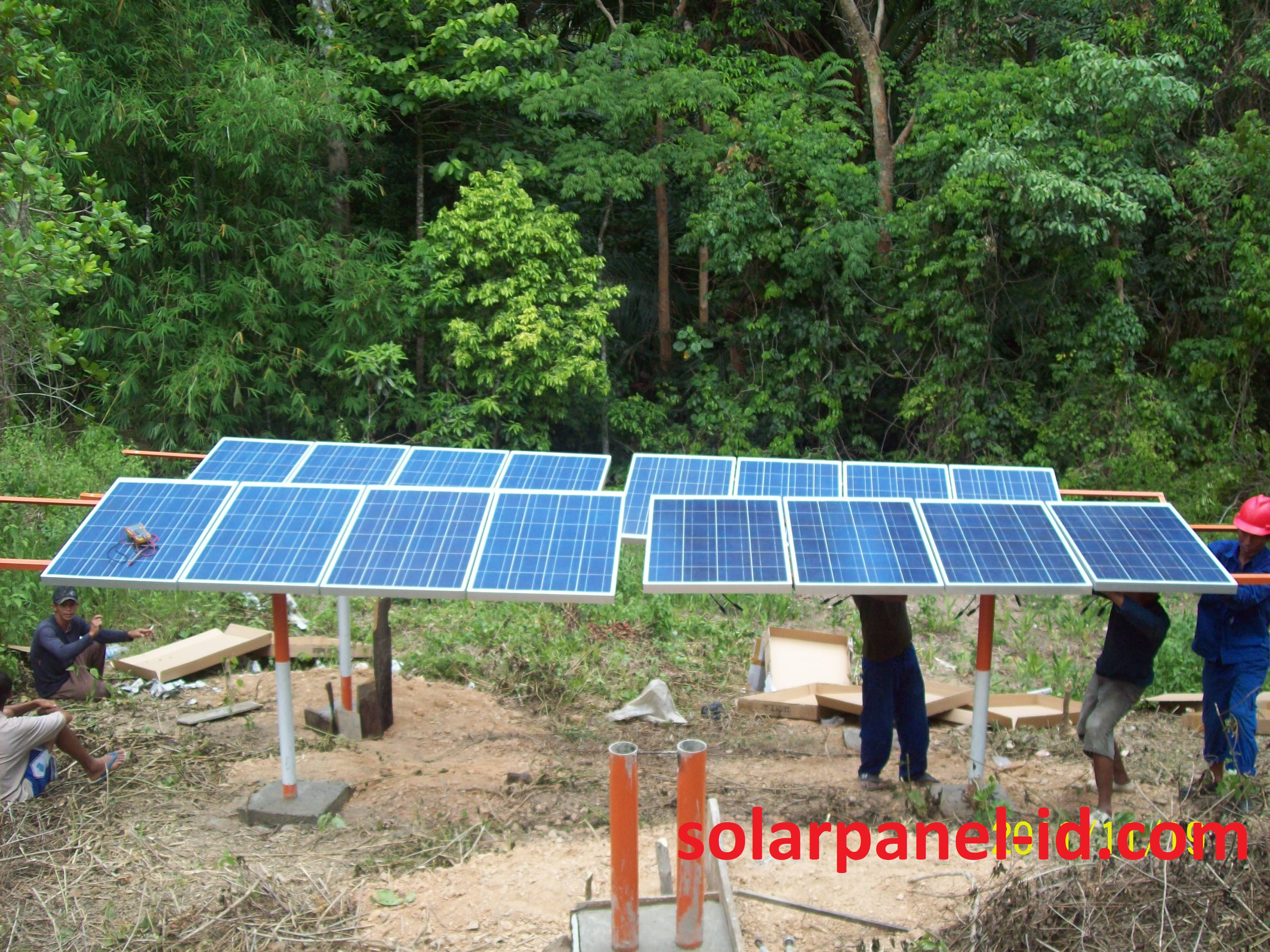 harga solar cell surabaya
