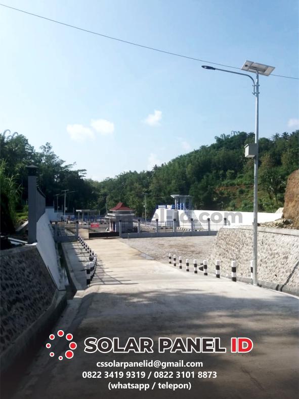 PJU solarcell Sampit Kalteng