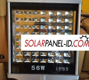 Lampu Solar Cell PJU 56Watt AC/DC