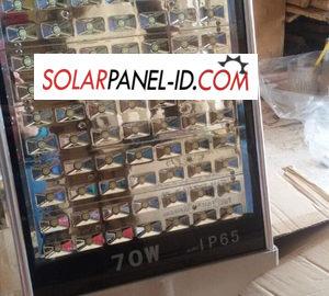 Lampu PJU Solar Panel Multiled 70 Watt AC/DC