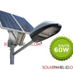 Paket Penerangan Jalan Umum PJU Tenaga Surya 60 Watt | PJU Solar Cell 60 Watt
