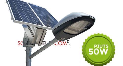 Paket Penerangan Jalan Umum PJU Tenaga Surya 50 Watt | PJU SolarCell 50 Watt
