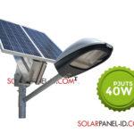 Paket Penerangan Jalan Umum PJU Tenaga Surya 40 Watt | PJU Solar Cell 40 Watt