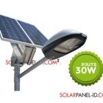 Paket Penerangan Jalan Umum PJU Tenaga Surya 30 Watt | PJU SolarCell 30 Watt