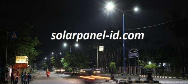 Distributor PJU Tenaga Surya | Penerangan Jalan Umum PJU | PJU SolarcellPalu dan Sulawesi Utara untuk Satuan atau Proyek