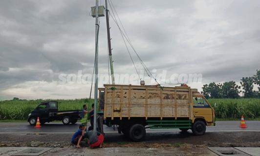 Distributor PJU Tenaga Surya | Penerangan Jalan Umum PJU | PJU SolarcellBitung dan Sulawesi Utara untuk Satuan atau Proyek