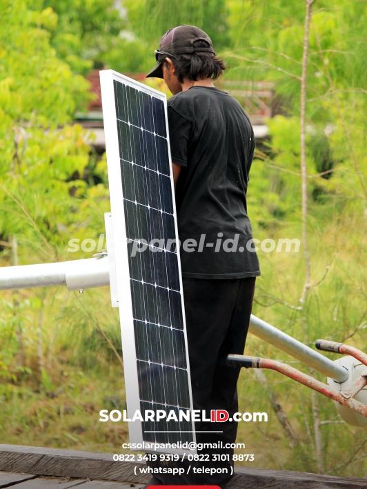 jual pju solarcell manowari papua barat