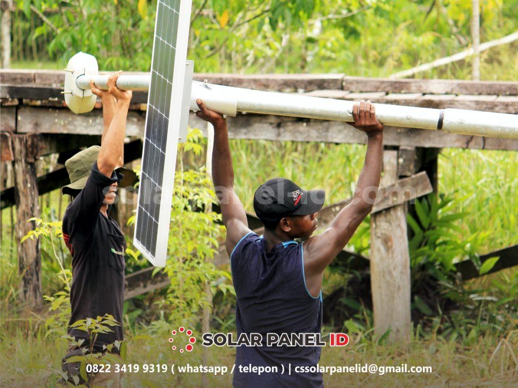 Harga PJU Solarcell Gorontalo satu set