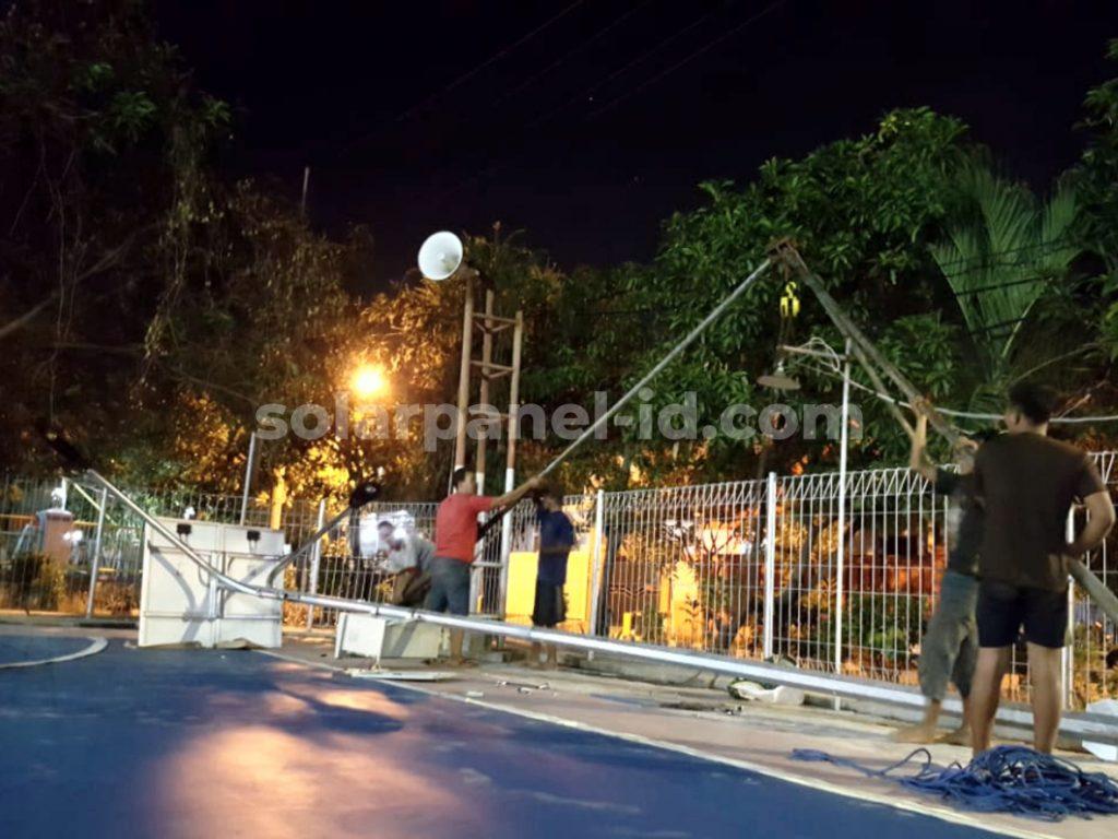 Harga PJU tenaga Surya Ternate Maluku