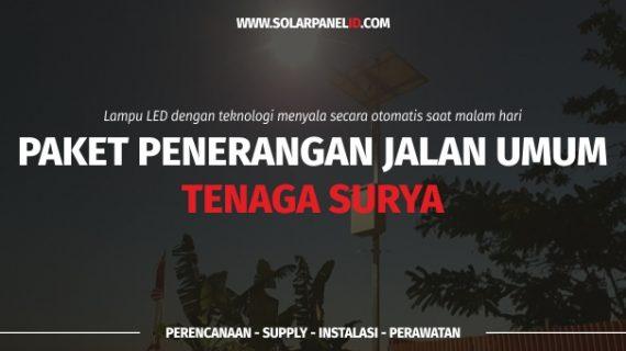 Distributor PJU Tenaga Surya | Lampu Jalan PJU | PJU Solarcell Ambon Maluku untuk Satuan atau Proyek