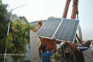 PJU Solarcell Kupang Nusa Tenggara Timur untuk Satuan atau Proyek Terbaru 2021