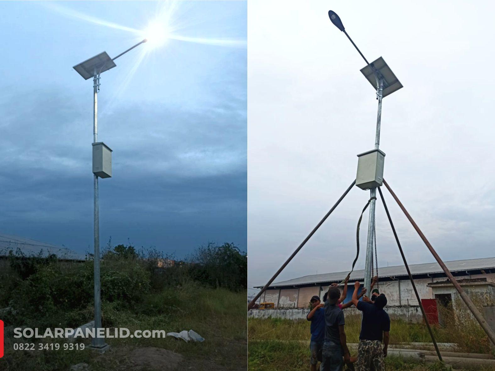 jual lampu pju solarcell tenaga surya surabaya
