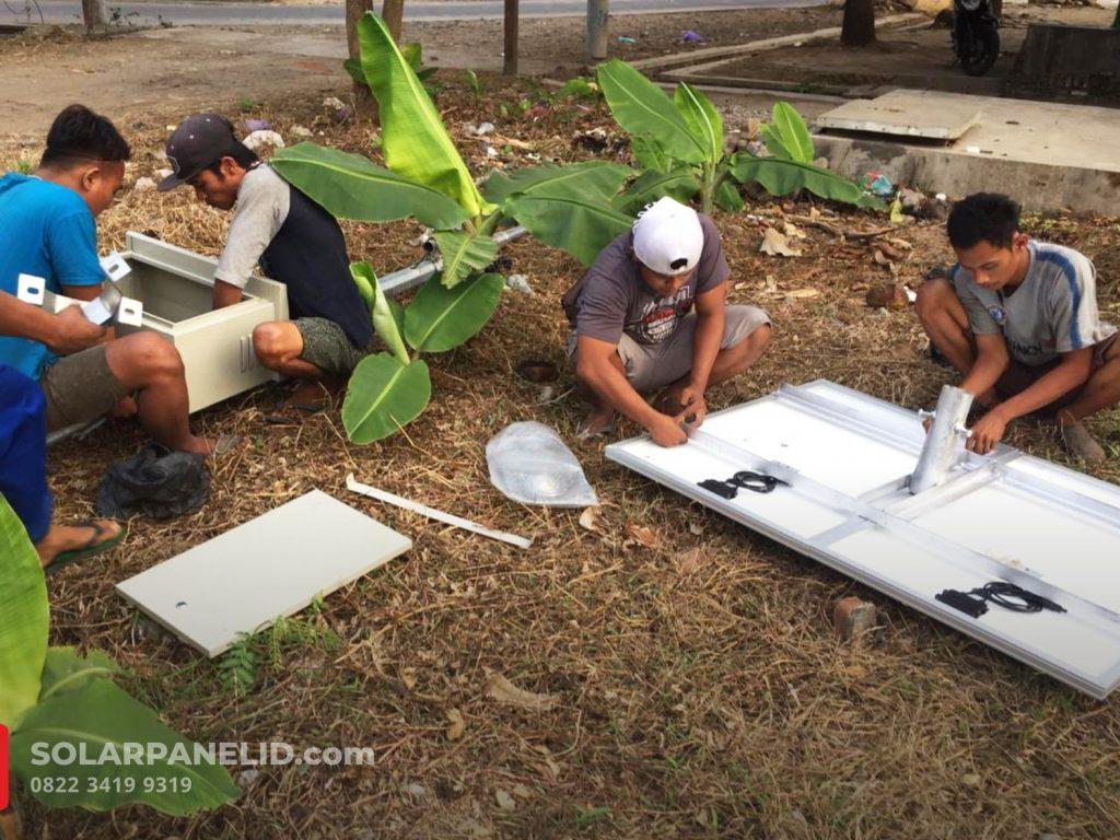 jual pju solarcell murah terbaru 2021