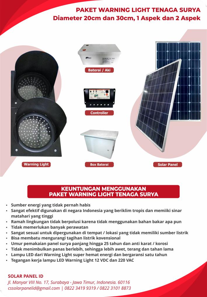 harga solar warning light 30cm