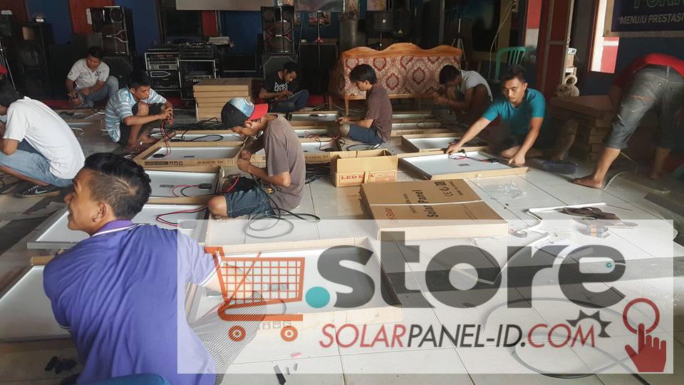 Paket PJU Tenaga Surya 50watt di Provinsi Maluku