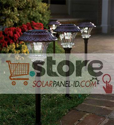 Distributor Solar Lampu Taman Tenaga Surya Solarpanel Id
