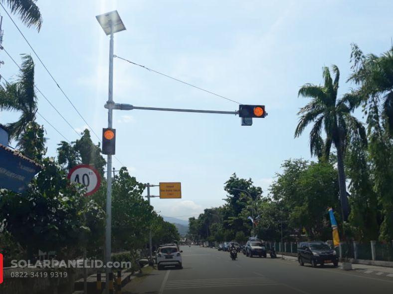 jual lampu warning light solarcell