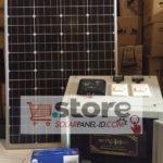Paket Panel Surya SHS 100WP Untuk Penerangan Rumah